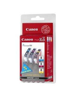 Canon CLI-8 Kleur (3-pack) (Origineel)