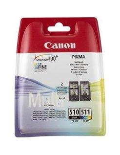 Canon PG-510/CL-511 Zwart en Kleur multipack