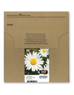 Epson 18 Zwart en Kleur (4-Pak) (Origineel)