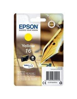 EPSON 16 inktcartridge geel standard capacity 3.1ml 165 pagi