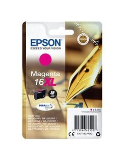 EPSON 16XL inktcartridge magenta high capacity 6.5ml 450 pag