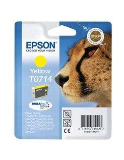 Epson (E) T0711 Zwart Luipaard-serie (Origineel)