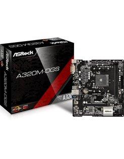 A320M-DGS AMD A320 Micro ATX moederbord