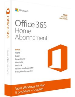 Office 365 Home 1jaar Nederlands