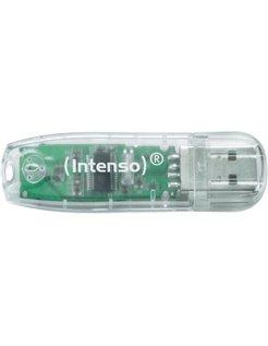 Rainbow Line 32GB 32GB USB 2.0 Type-A Transparant USB flash drive