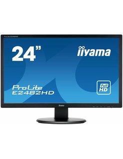 Mon  E2482HD-B1 Zwart 24 inch