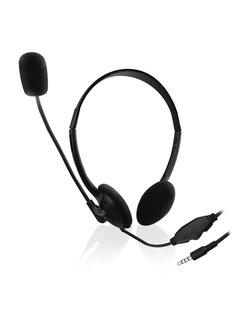 EW3567 Hoofdband Stereofonisch Bedraad Zwart mobiele hoofdtelefoon