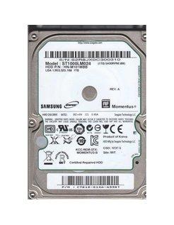 "Momentus 1TB SATA II 2.5"" 1000GB SATA II interne harde schijf"