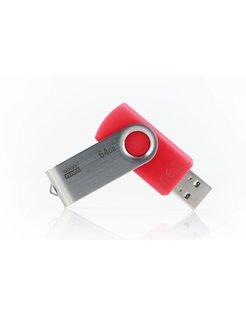UTS3 64GB USB 3.0 (3.1 Gen 1) Type-A Rood USB flash drive
