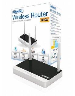 EM4544 Fast Ethernet Zwart, Wit draadloze router