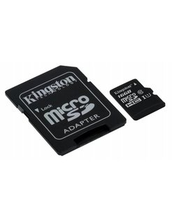Micro SD + Adapter 16GB Class 10 UHS1