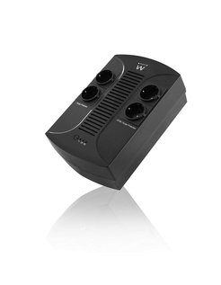 EW3940 Line-Interactive 650VA 4AC outlet(s) Zwart UPS