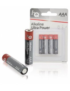 LR03/4BL niet-oplaadbare batterij