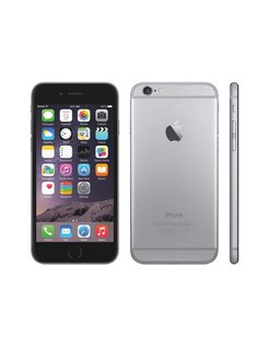 iPhone 6 Spacegray 16GB Refurb Silver (refurbished)