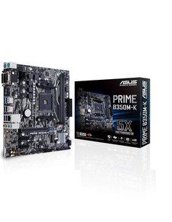 ASUS Prime B350M-K AMD B350 Socket AM4 Mini-ATX moederbord