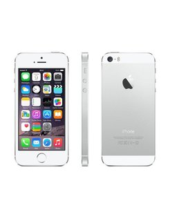 iPhone 5s 16GB Silver RFB Bronze ( no charger ) (refurbished)