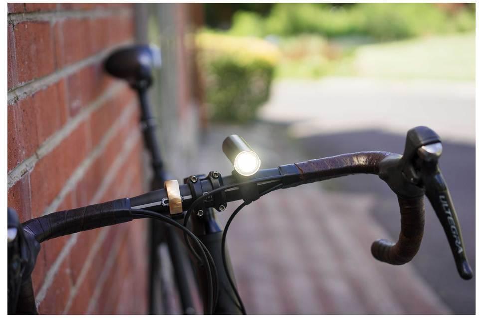 Knog PWR rider Helmlampe 450 lumen und 2200mAh