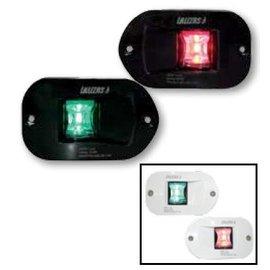 Lalizas FOS serie 12 LED inbouw navigatieverlichting BB/SB