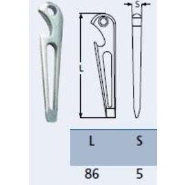 RVS sluitingsleutel, dekvuldop opener, schroevendraaier en flesopener.