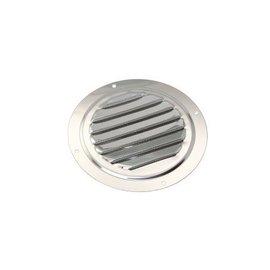 Ronde RVS ventilatieroosters met hor