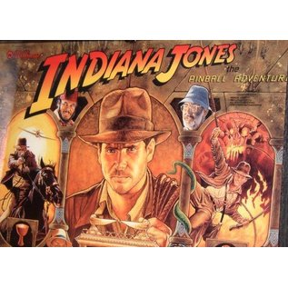 Indiana Jones  Back Box Replacement
