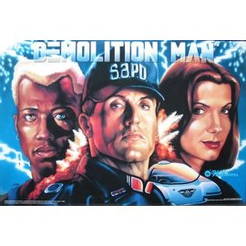 Demolition Man Insert Replacement