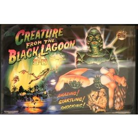 Creature from the Black Lagoon Back Box  Replacement