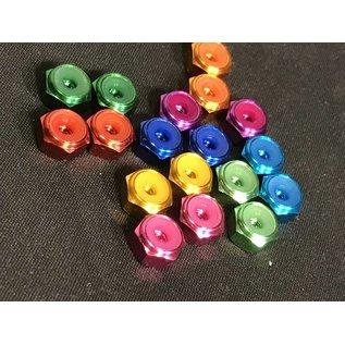 # 8/32 ALU Anodized Lock Nut