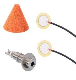 DIY trigger set head and rim triggering