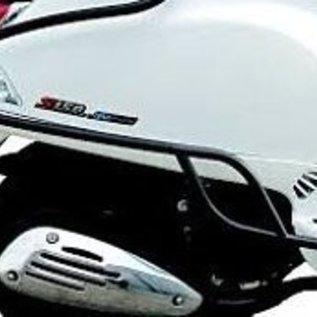 Vespa Achtervalbeugels zwart glans Vespa Primavera/Sprint origineel model