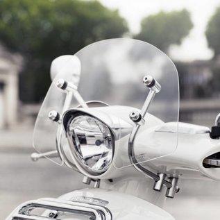Peugeot Laag windscherm, RVS beugels Peugeot Django origineel