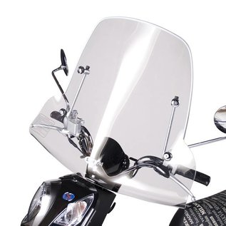SYM Medium windscherm transparant 56cm SYM Mio origineel