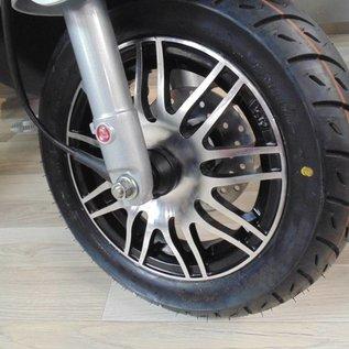 Piaggio Sportvelgen matzwart / aluminium Piaggio Zip