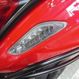 Vespa LED richtingaanwijzers achter smoke Vespa Primavera/Sprint