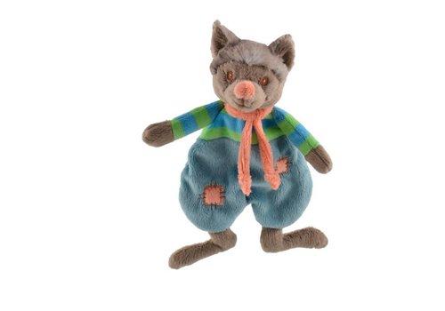 Knuffels van Bukowski Design Zweden Cute Wolfy - Baby doekje
