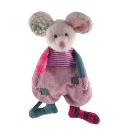 Knuffels van Bukowski Design Zweden Cute Mousy - Baby doekje
