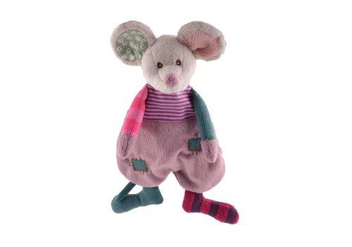 Knuffels van Bukowski Design Zweden Cute Mousy - Baby Kuscheltuch