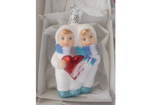 Inge Glas Sneeuwvlokje Tweeling