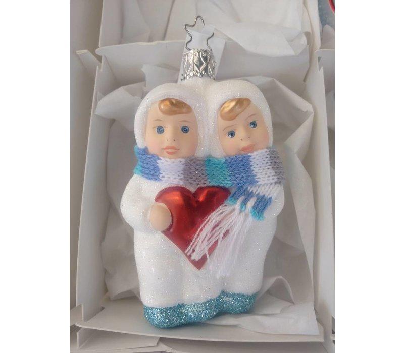 Sneeuwvlokje Tweeling van Inge Glas