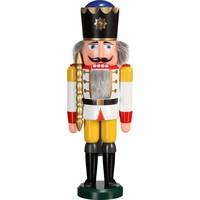 Nussknacker König weiss 39 cm
