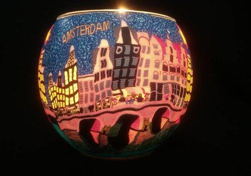 Starlight van Hellmann Versand Windlicht Amsterdam bloemenmarkt