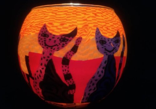 Starlight van Hellmann Versand Windlicht Katten