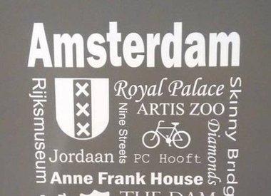 Letterborden Amsterdam