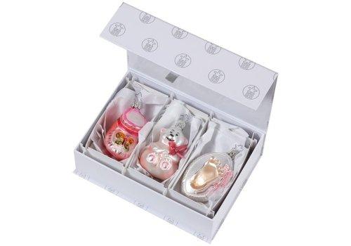 Inge Glas Für Mädchen Babys Christmas zum 1. Weihnachtsfest,