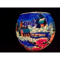 Leuchtglas Rotkehlchen