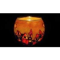 Leuchtglas  Hundertwasser