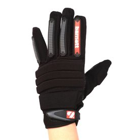 FLG-02 New generation linemen football gloves, OL,DL, black