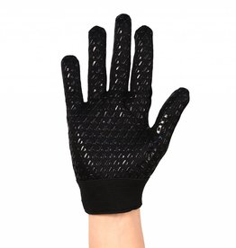 FLGL-02 New generation running football gloves, RE,DB,RB, black