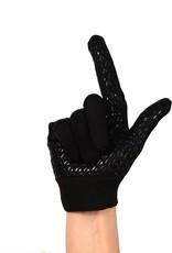 FLGL-02 New generation running football gloves, RE,DB,RB, black