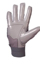 FLG-03 Exceptional linemen gloves, OL,DL, grey
